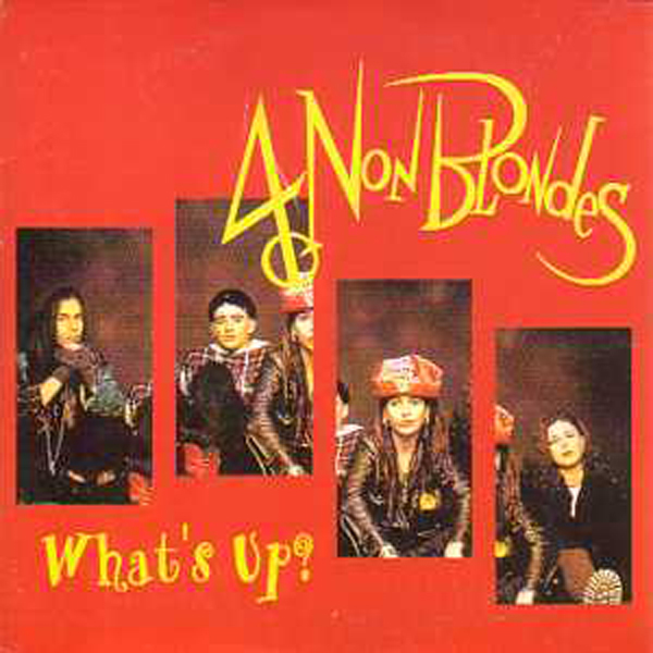 4 NON BLONDES - What's up ? 4-Track CARD SLEEVE - CD single
