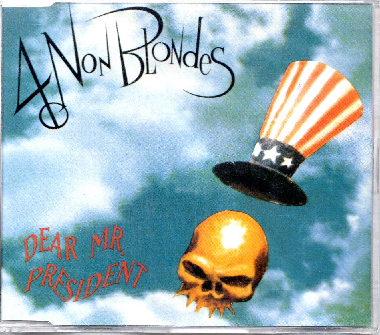 4 NON BLONDES - Dear Mr President 4-track jewel case - CD Maxi