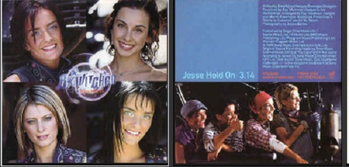 B*WITCHED - Jesse Hold On Promo 1-track CARD SLEEVE - CD single