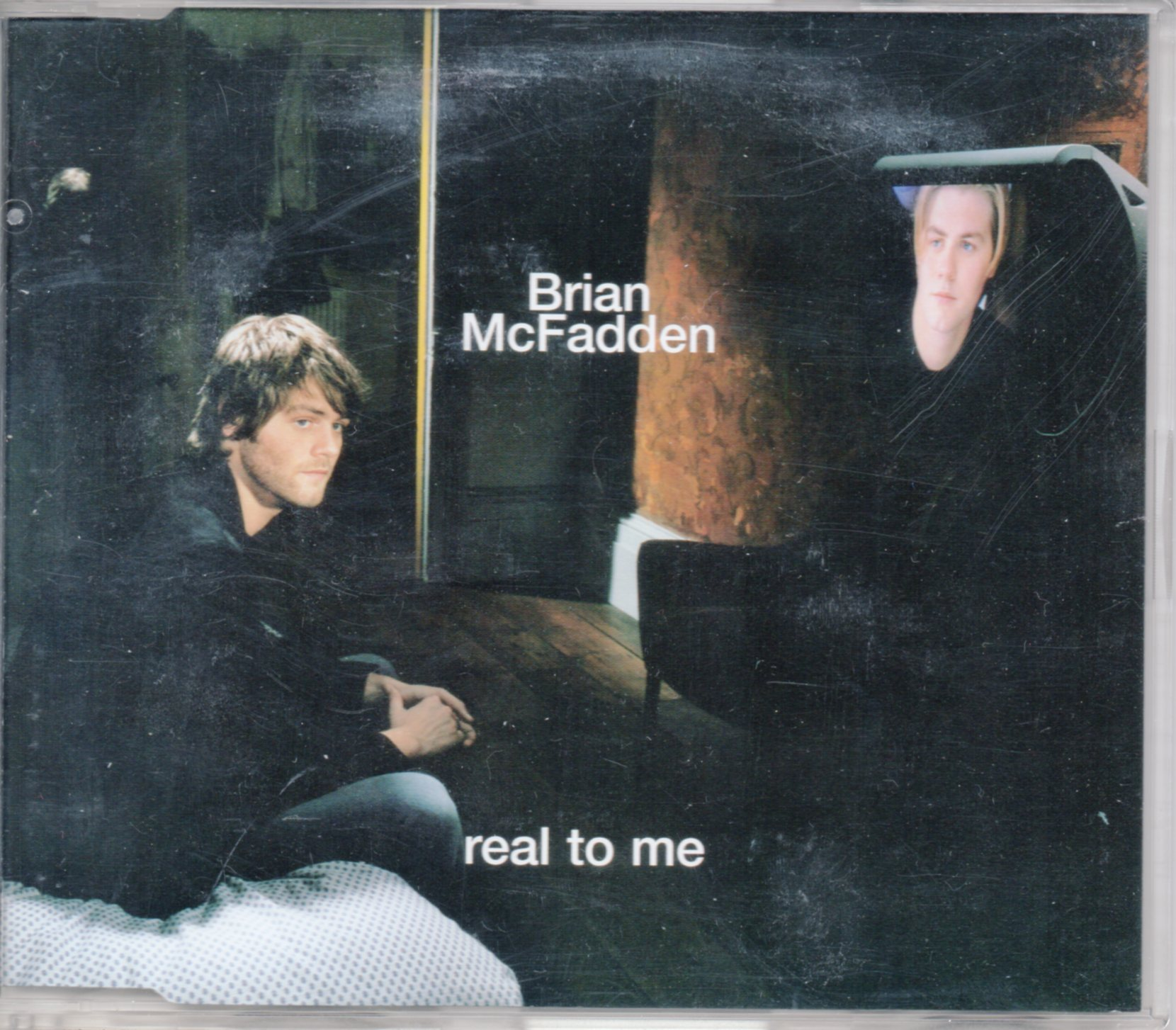 BRIAN MCFADDEN - Real to me PROMO 2-track Jewel case - CD Maxi