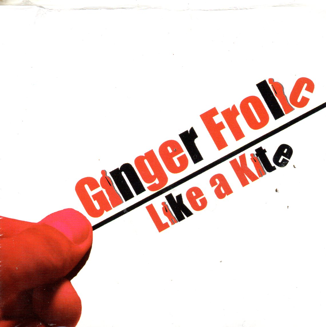 GINGER FROLIC - Like a kite 3-track CARD SLEEVE - CD single