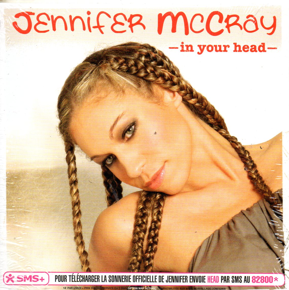 JENNIFER MCCRAY - In Your Head 4-track CARD SLEEVE - CD single