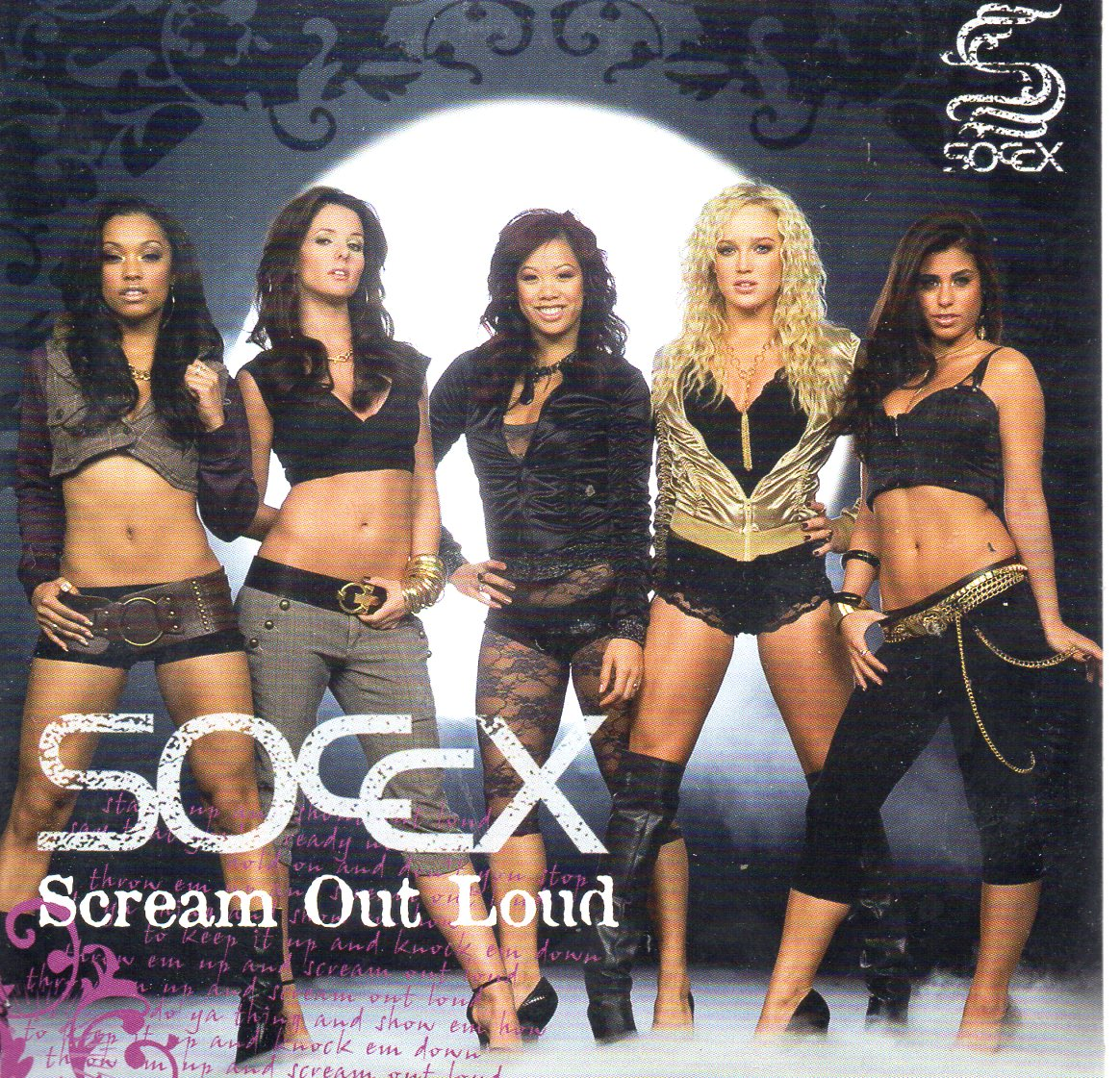 SOCCX - Scream Out Loud 3-track CARD SLEEVE - CD single