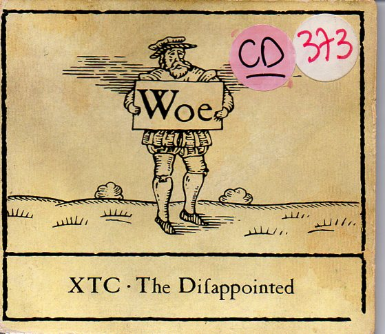 XTC - The Disapointment 4-track Digipack