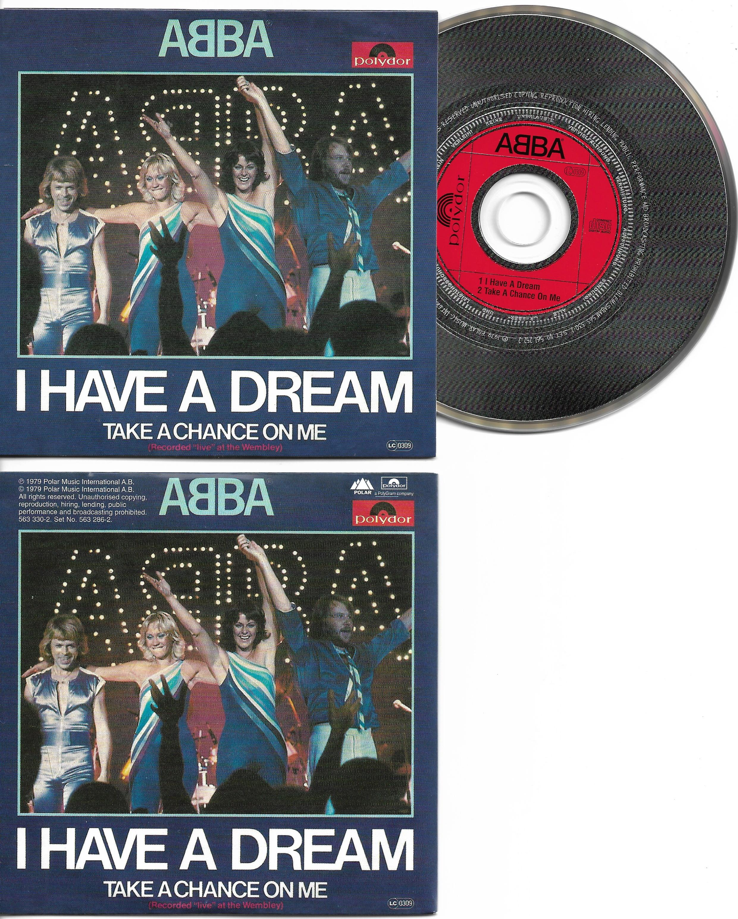 ABBA - I Have A Dream 2-track Card Sleeve