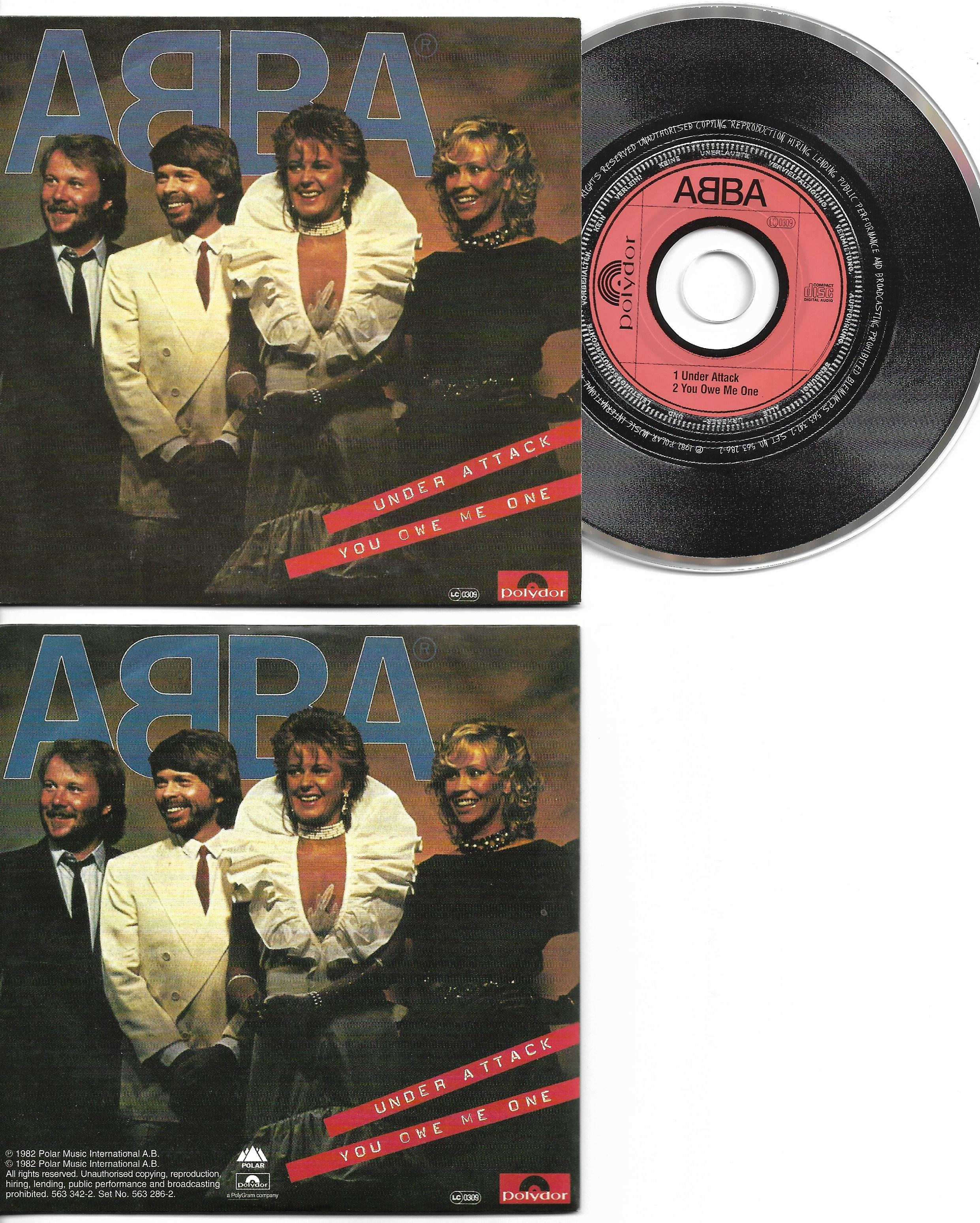 ABBA - Under Attack 2-track Card Sleeve