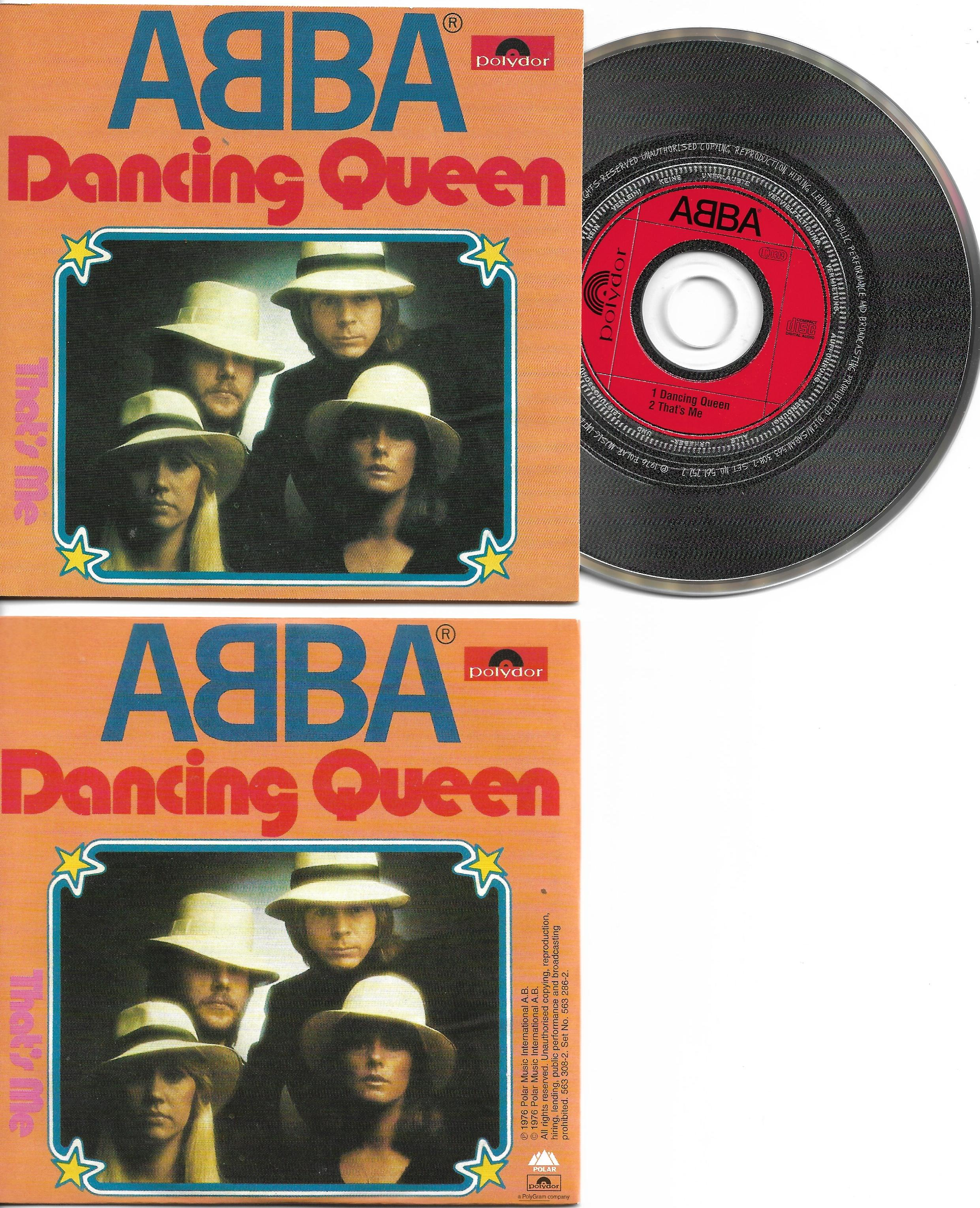 ABBA - Dancing Queen 2-track Card Sleeve