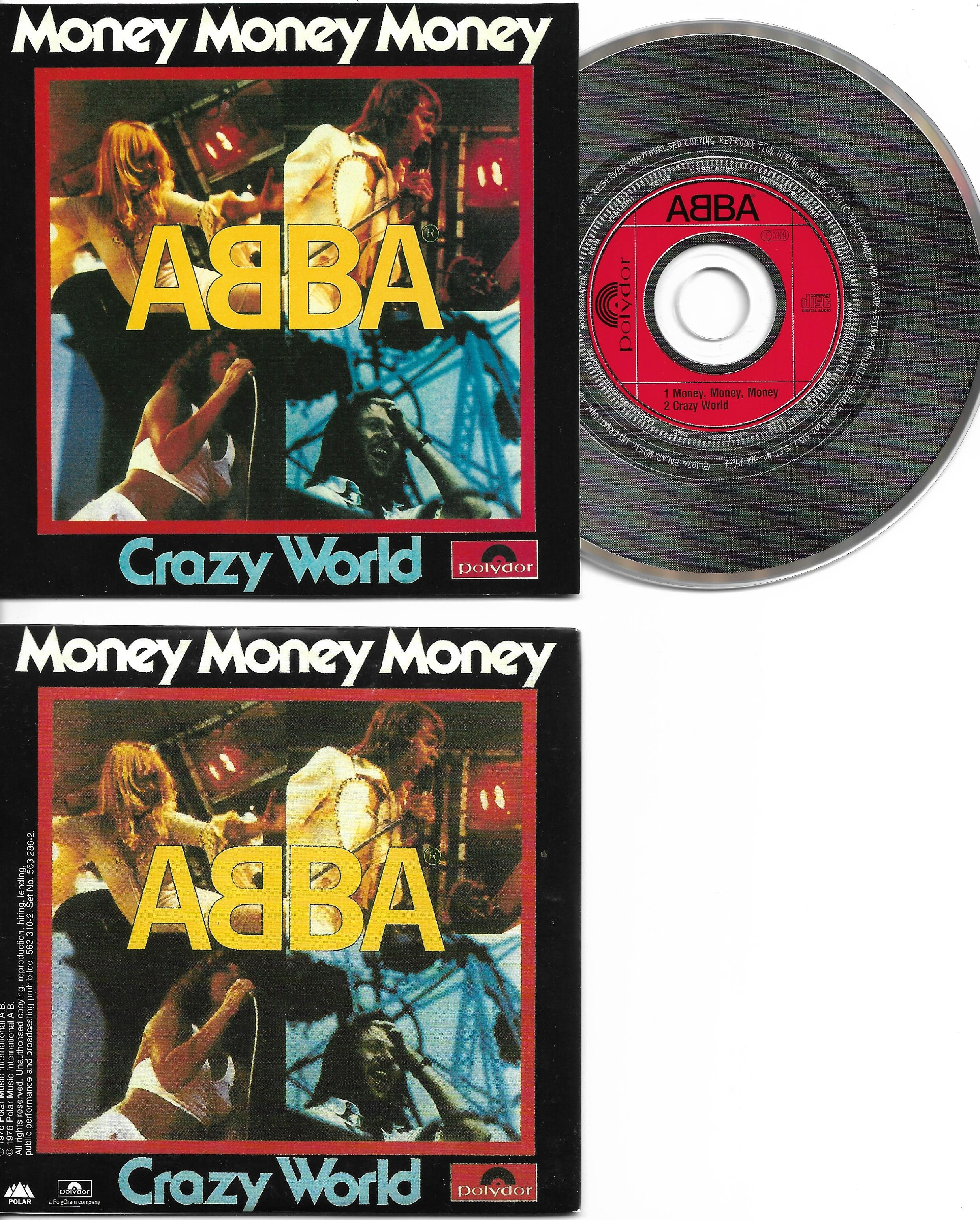 ABBA - Money Money Money - That's Me 2-track Card Sleeve