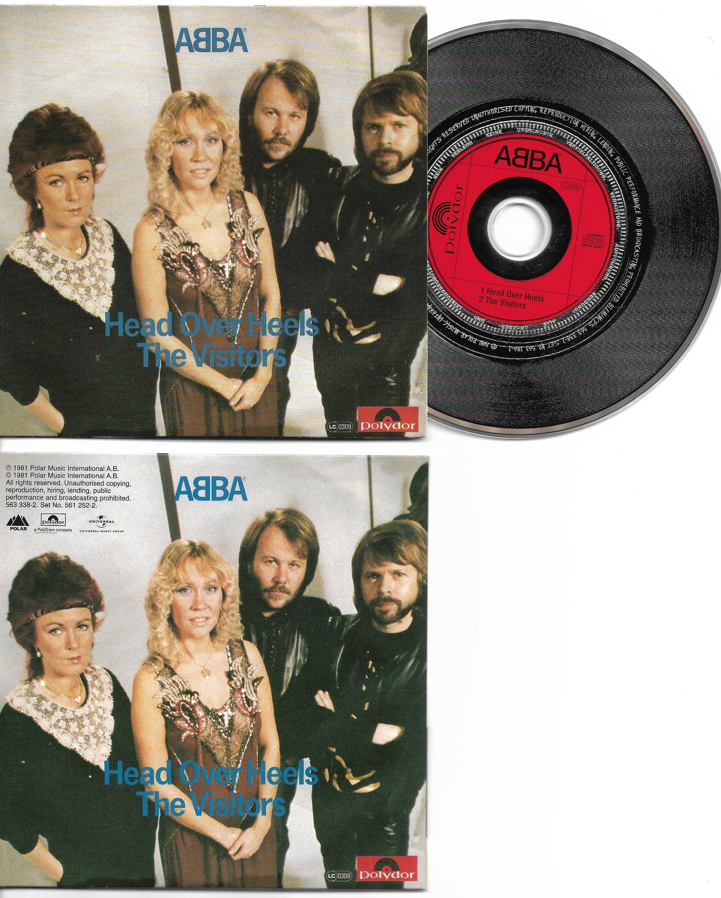 ABBA - Head Over Heels 2-track Card Sleeve
