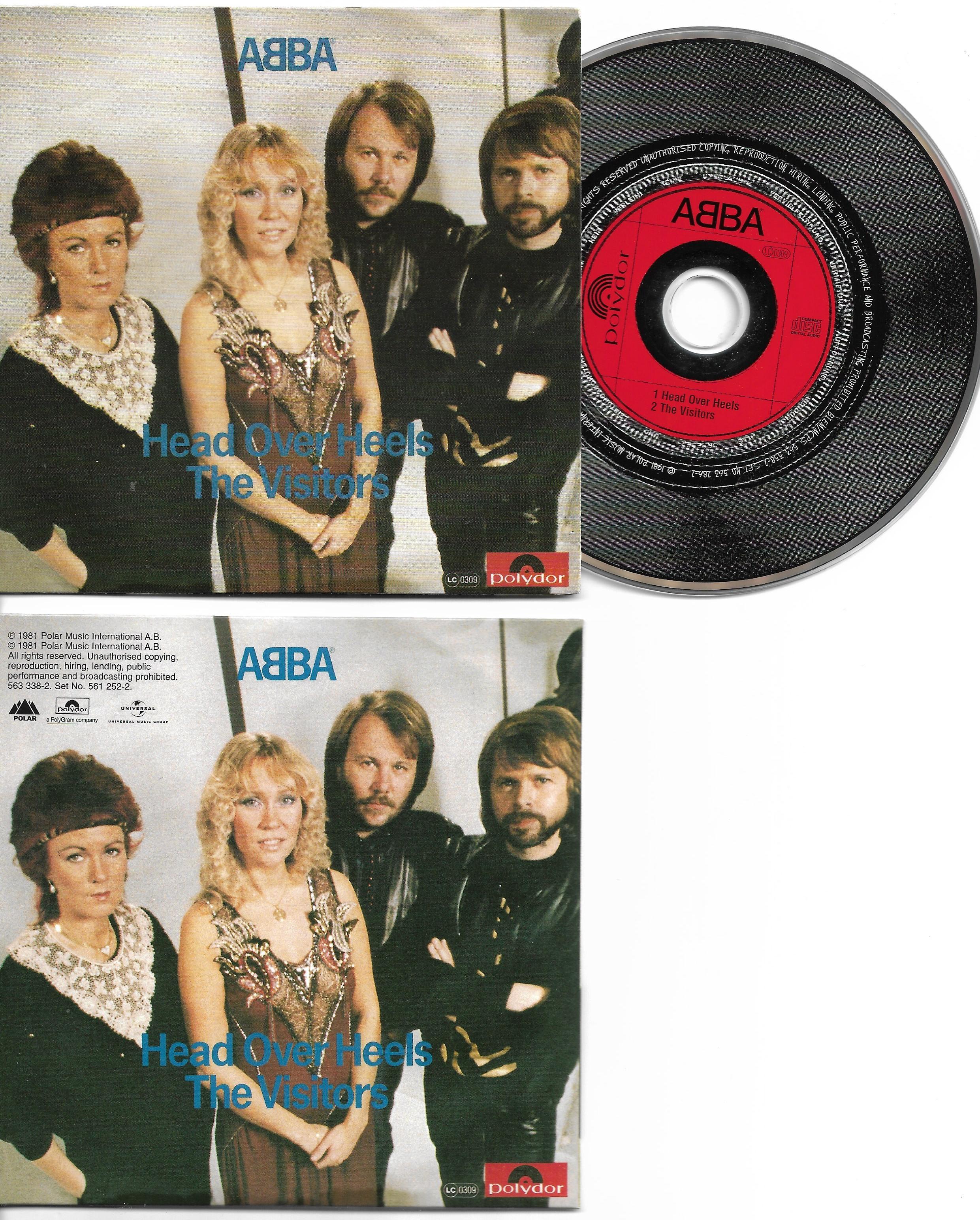 ABBA - Head Over Heels 2-track Card Sleeve