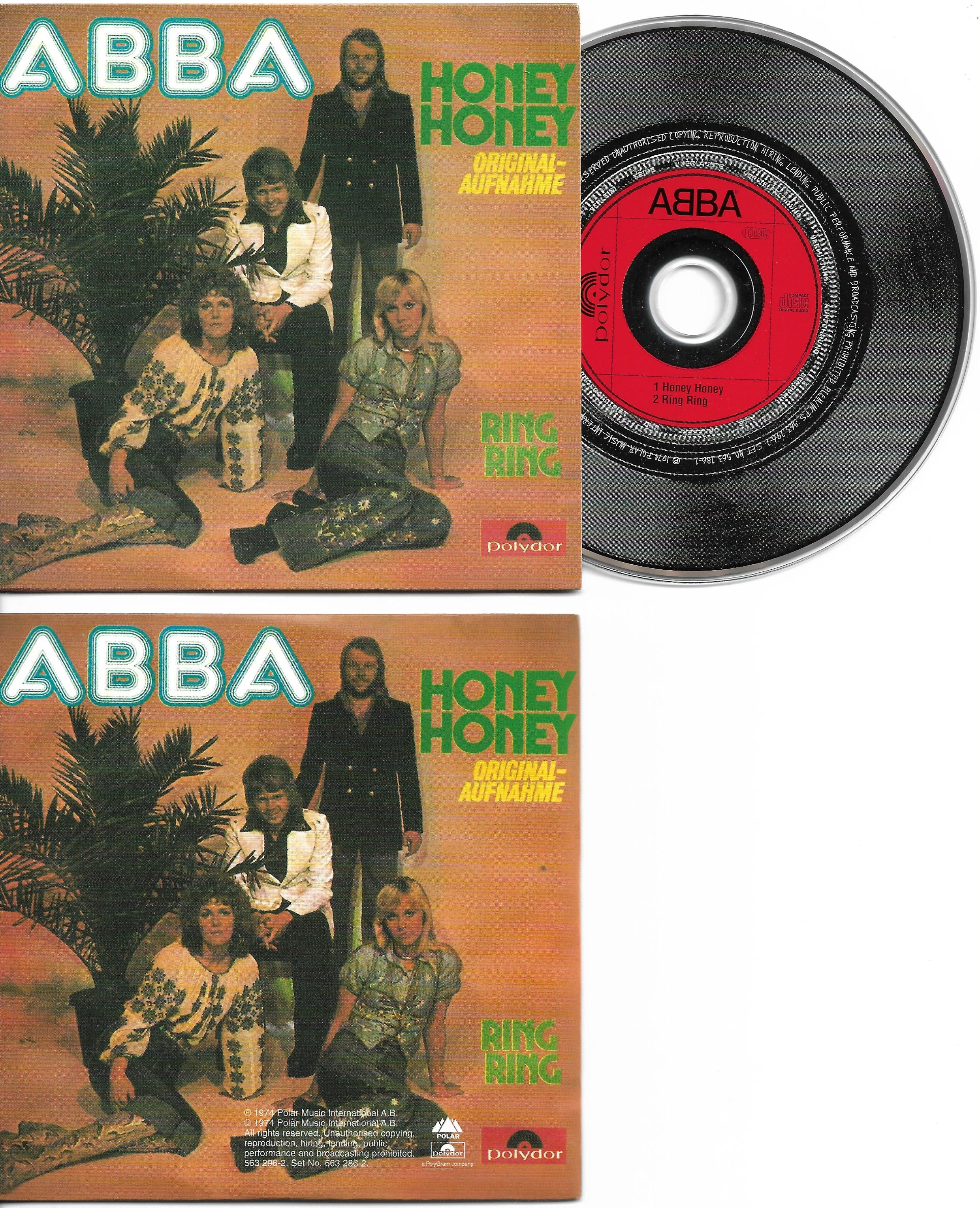 ABBA - Honey Honey 2-track Card Sleeve