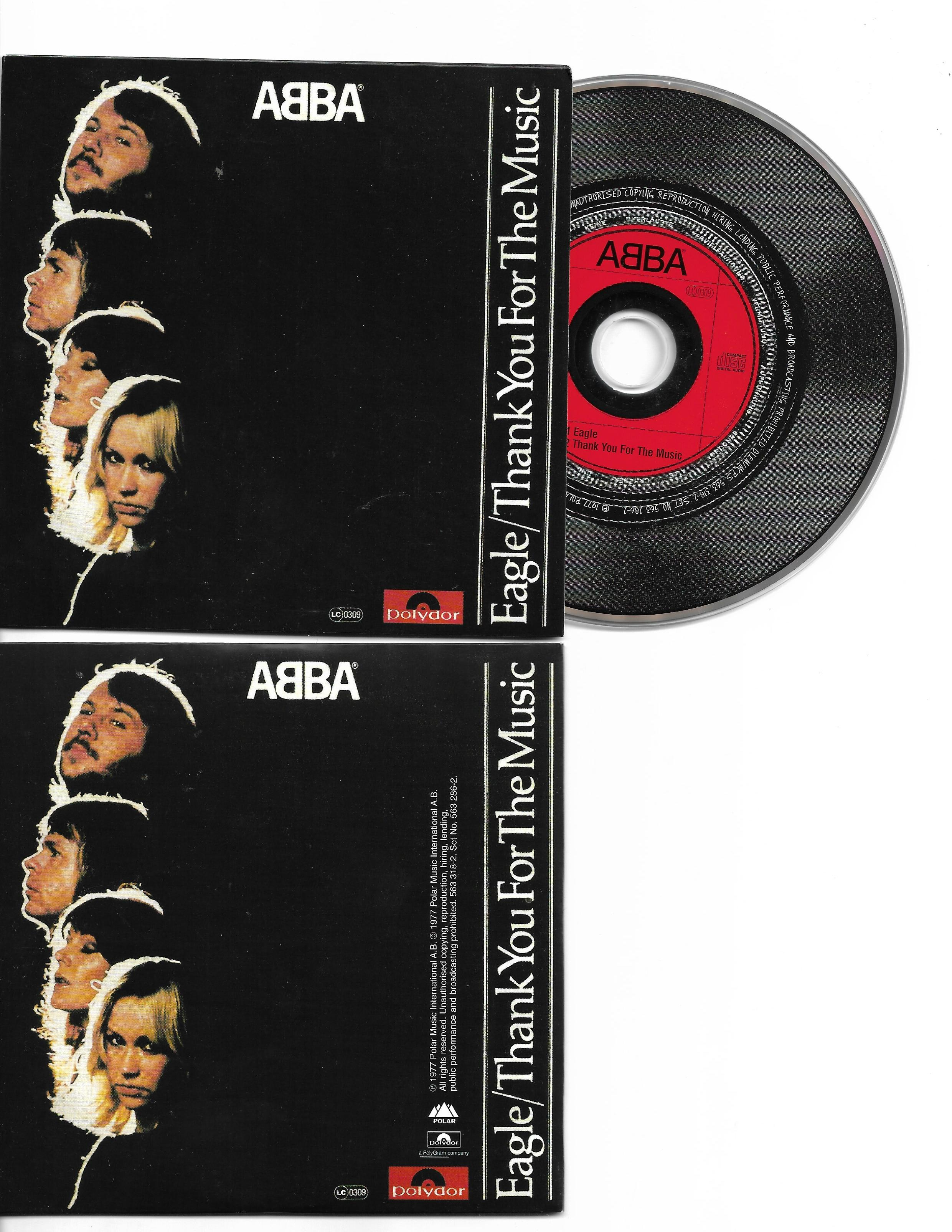 ABBA - Eagle 2-track Card Sleeve