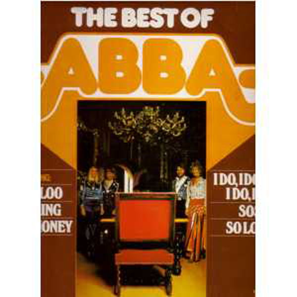 ABBA - The best of Abba (Hong Kong ?) - 33T