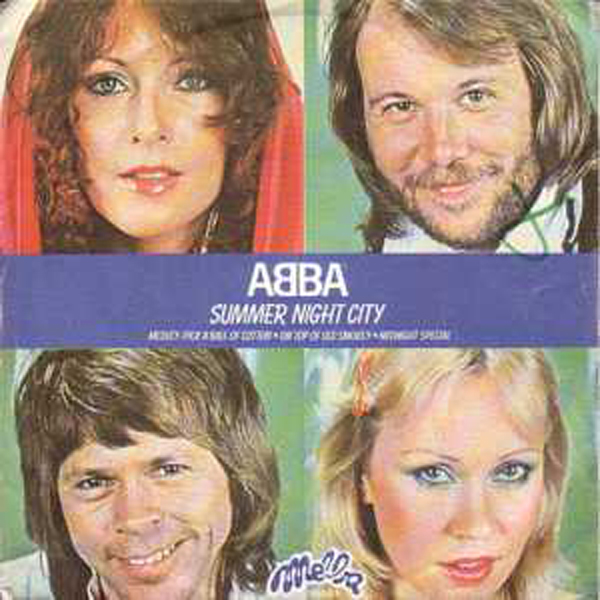ABBA - Summer Night City France