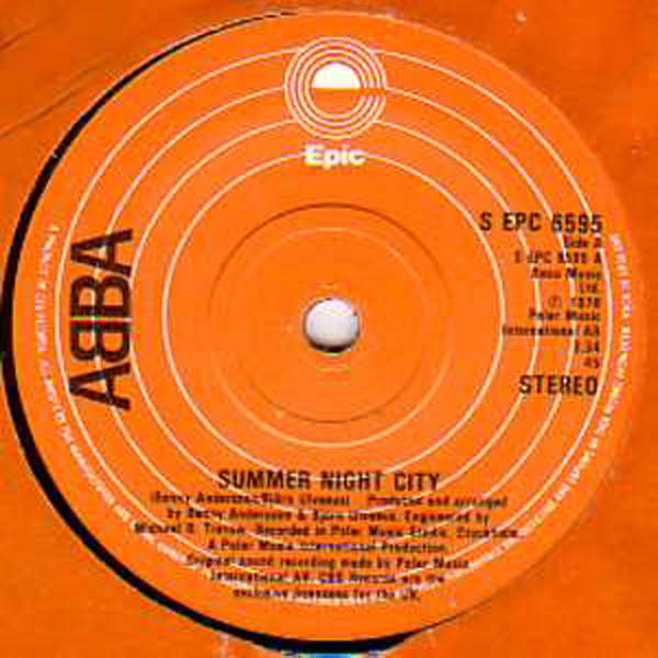 ABBA - Summer Night City Uk