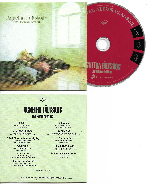 ABBA - Agnetha FÄLTSKOG - Elva Kvinnor I Ett Hus Card Sleeve Mini Lp