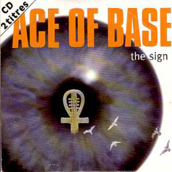 ACE OF BASE - The Sign 2 Tracks Card Sleeve