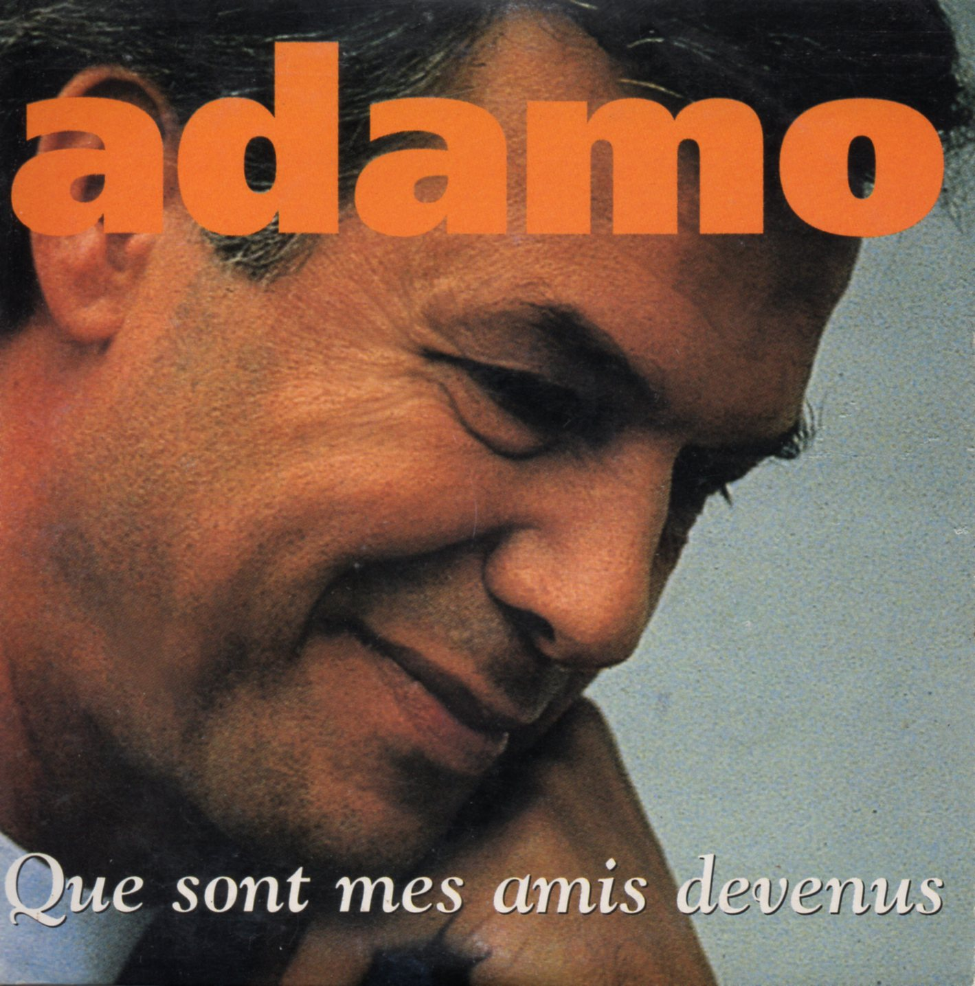 ADAMO - Que sont mes amis devenus 2-TRACK CARD SLEEVE - CD single