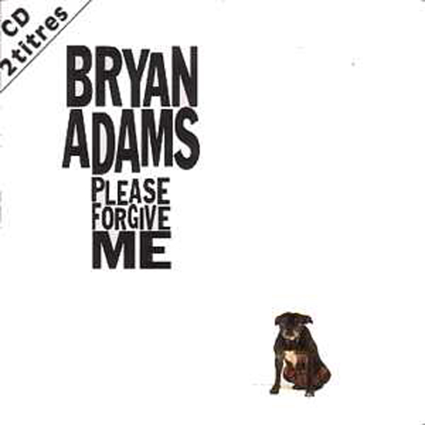 BRYAN ADAMS - Please forgive me 2-track CARD SLEEVE - CD single