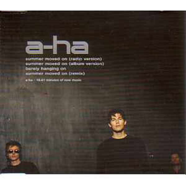 A-ha - Summer Moved On 4-track Jewel Case