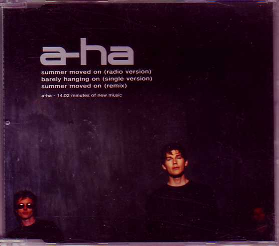 A-ha - Summer Moved On 3-track Jewel Case