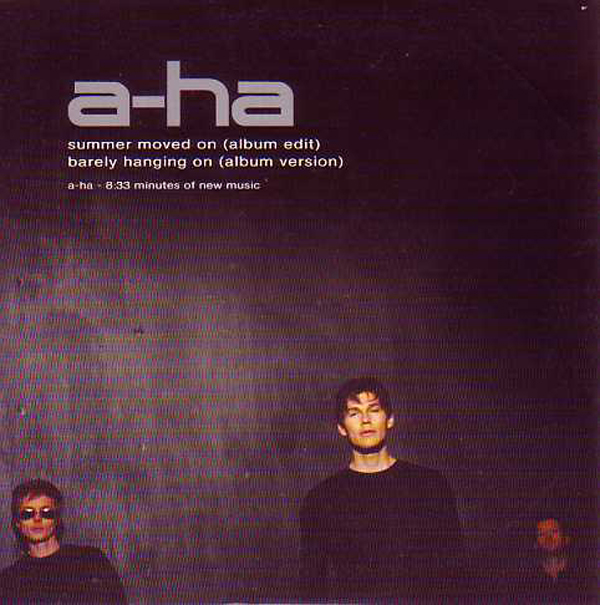 A-ha - Summer Moved On 2-track Card Sleeve