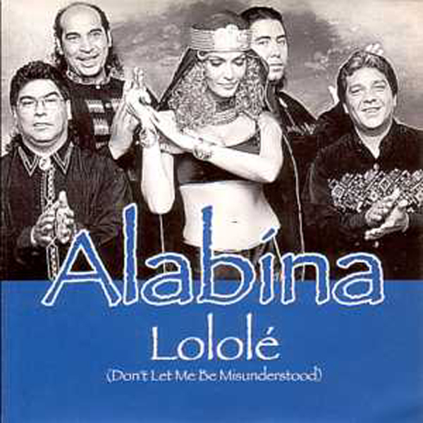 ALABINA FEAT ISHTAR - Lololé 3-Track CARD SLEEVE - CD single