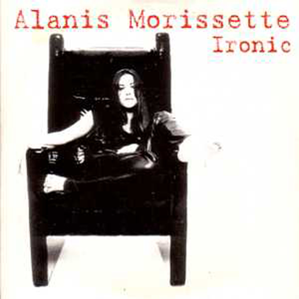 ALANIS MORISSETTE - Ironic 4 Tracks CARD SLEEVE - CD single