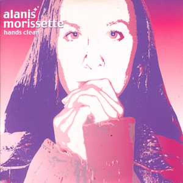 ALANIS MORISSETTE - Hands clean 2 tracks CARD SLEEVE - CD single