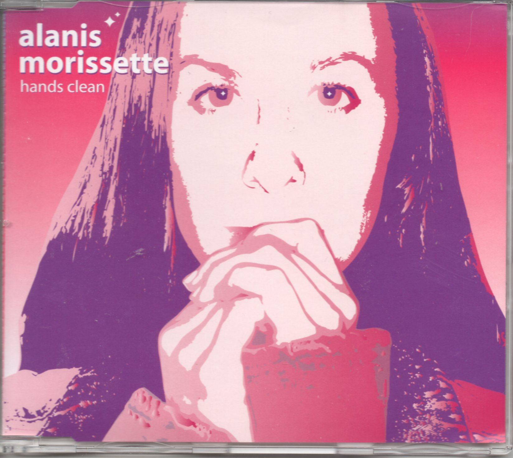 ALANIS MORISSETTE - Hands clean Promo 1-track Jewel Case - CD Maxi