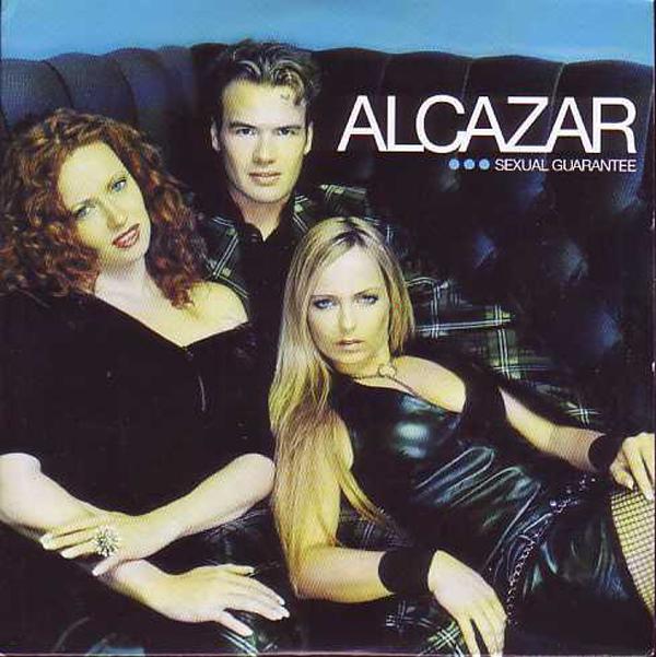 ALCAZAR - Sexual guarantee 2-track CARD SLEEVE - CD single