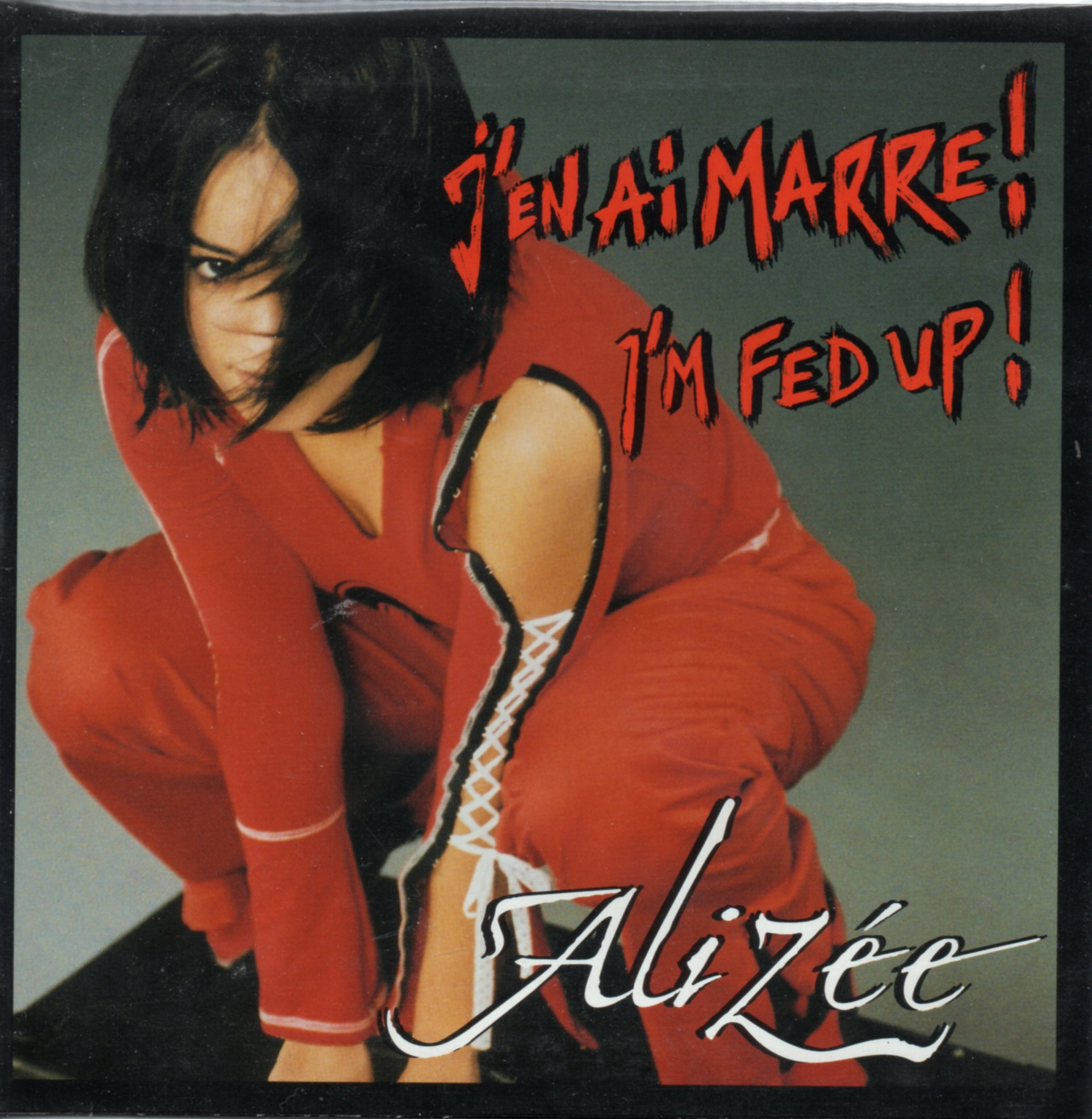 ALIZEE - I'm fed up - J'en ai marre 2-track CARD SLEEVE - CD single
