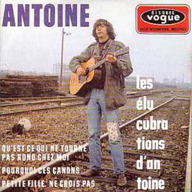 ANTOINE - Les elucubrations ltd ed  CARD SLEEVE/ Original 60s french Sleeve ! 4 tracks - CD single