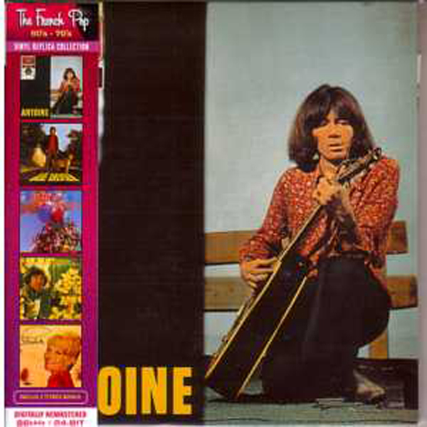 ANTOINE - Les elucubrations - Mini LP Limited Editon - OBI - INC BONUS - CD
