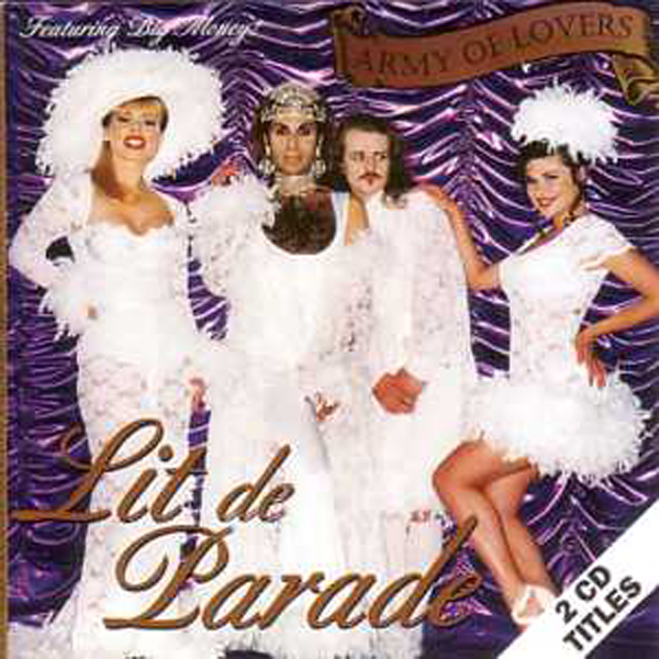 ARMY OF LOVERS - Lit de parade CARD SLEEVE 2-Track - CD single