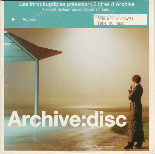 ARCHIVE - System PROMO CARD SLEEVE 2-track - CD single