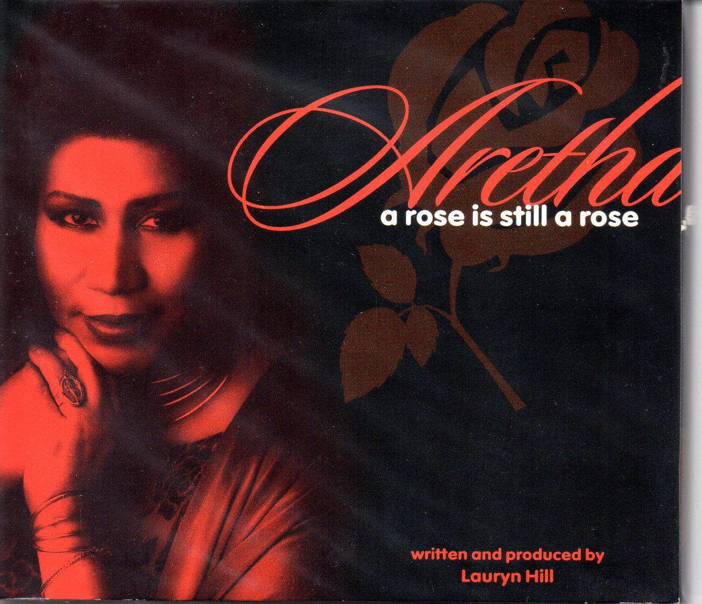 Aretha FRANKLIN - A Rose Is Still A Rose - Promo 2-track Gatefold Digipack