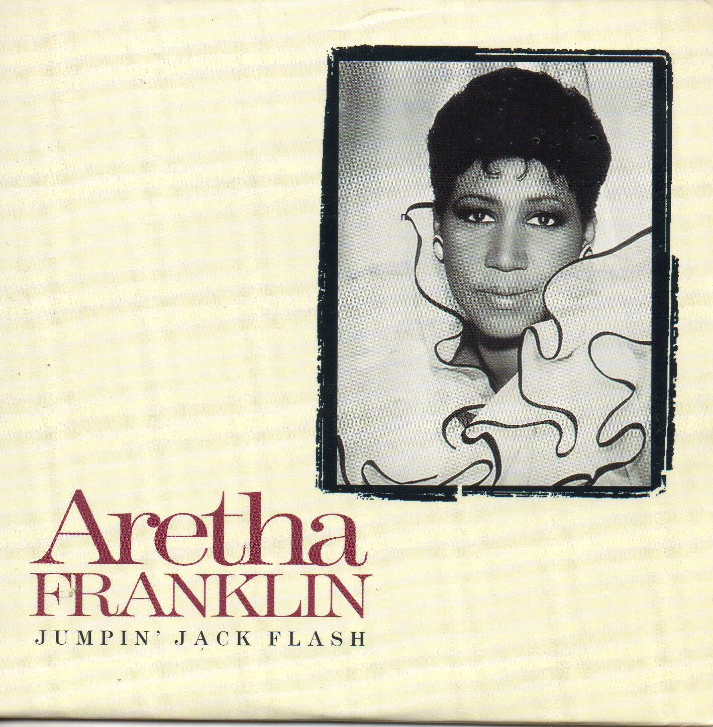 ARETHA FRANKLIN - THE ROLLING STONES - Jumpin'' jack flash 2-track CARD SLEEVE - CD single