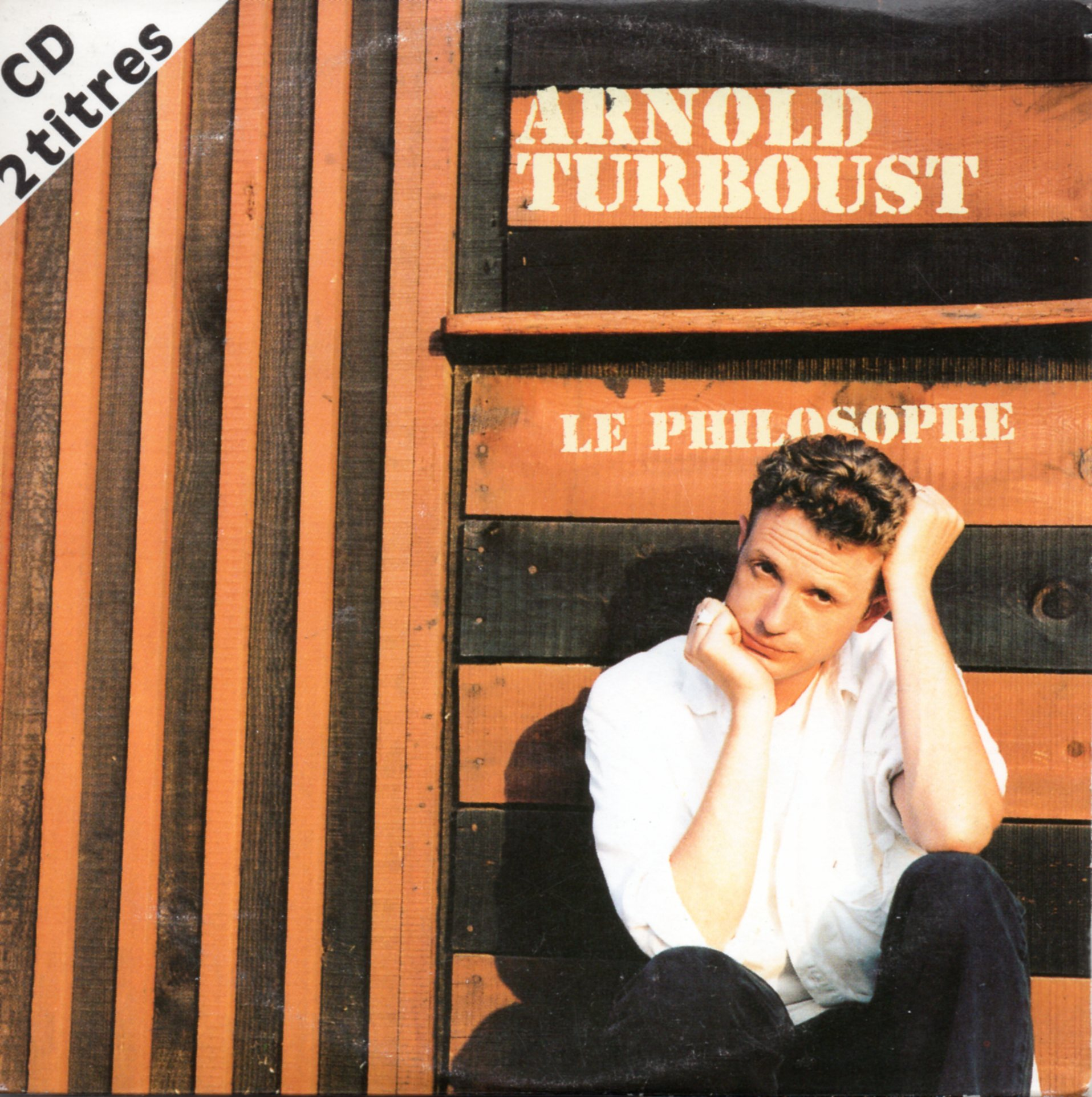ARNOLD TURBOUST - Le philosophe 2-Track CARD SLEEVE - CD single