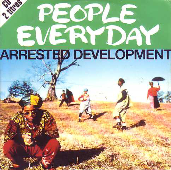 ARRESTED DEVELOPMENT - People Everyday 2-track Card Sleeve