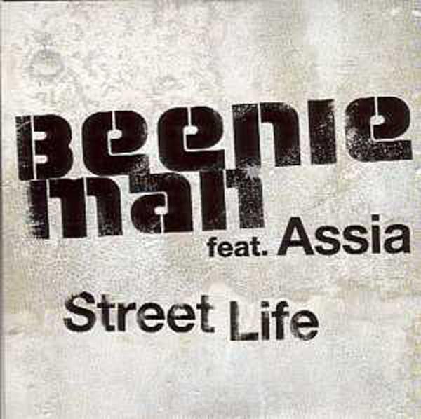 ASSIA & BEENIE MAN - Street life Promo 1 Track CARD SLEEVE - CD single