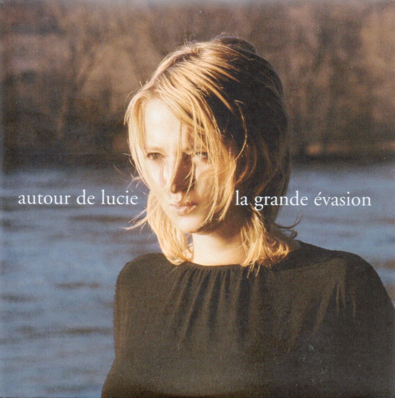 AUTOUR DE LUCIE - La grande évasion - Promo 1-track CARD SLEEVE - CD single