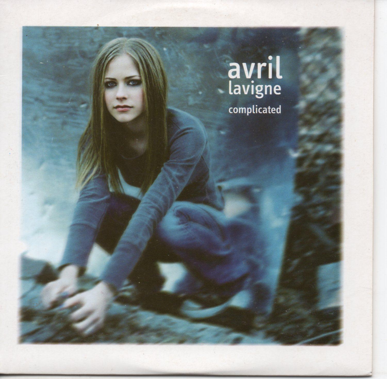 AVRIL LAVIGNE - Complicated The Matrix mix Promo 1-track SPAIN - CD single