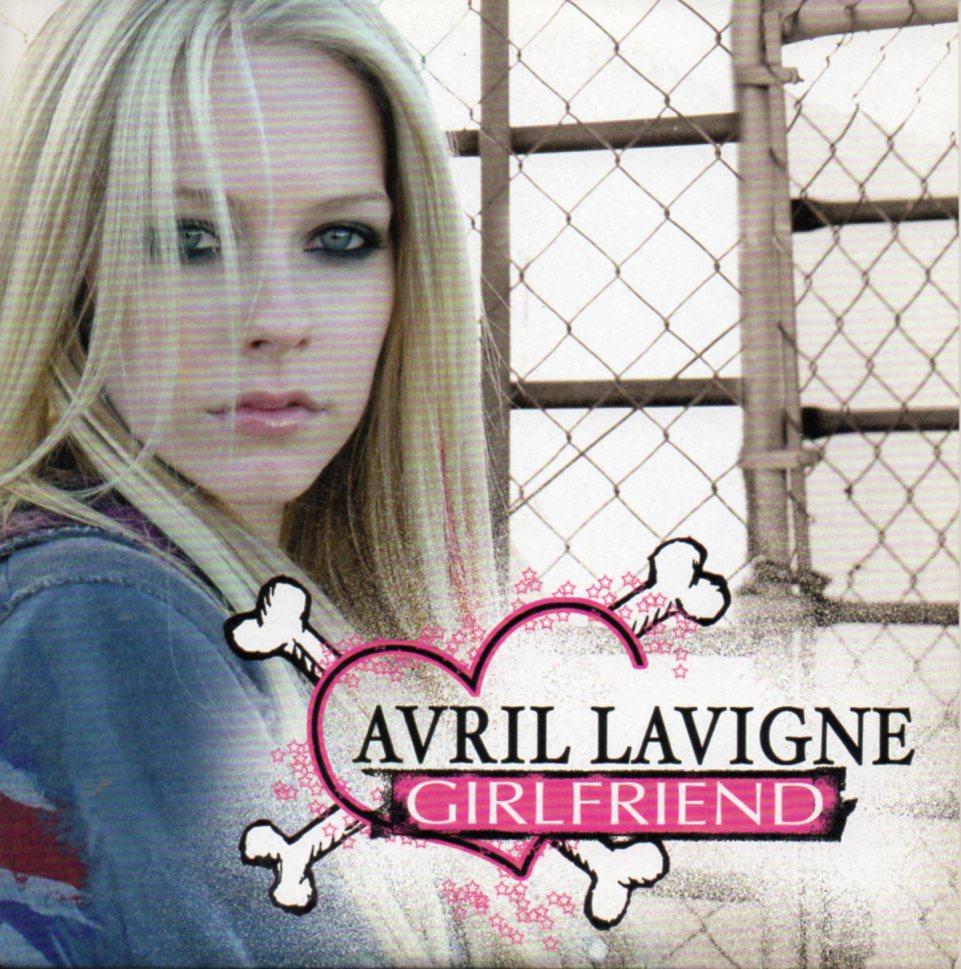 AVRIL LAVIGNE - Girlfriend 2-track CARD SLEEVE - CD single