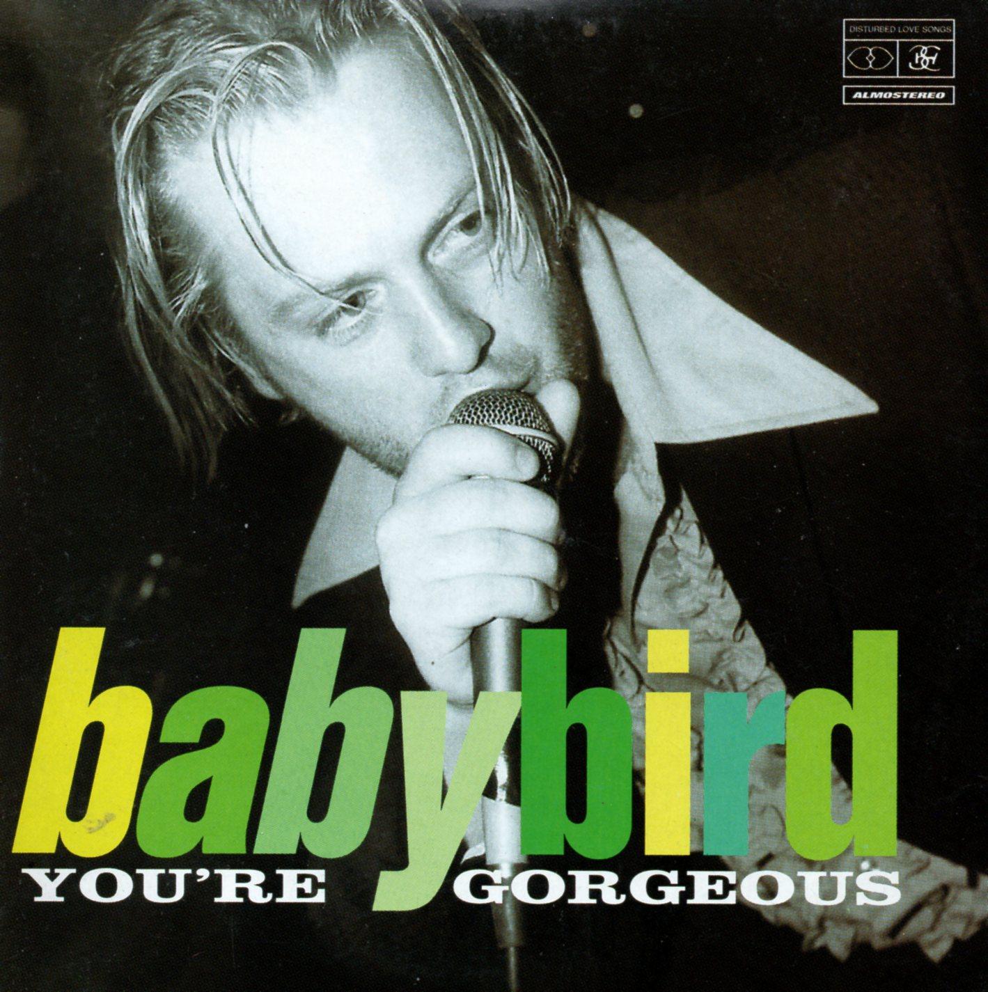 BABYBIRD - You're Gorgeous 2-track CARD SLEEVE - CD single