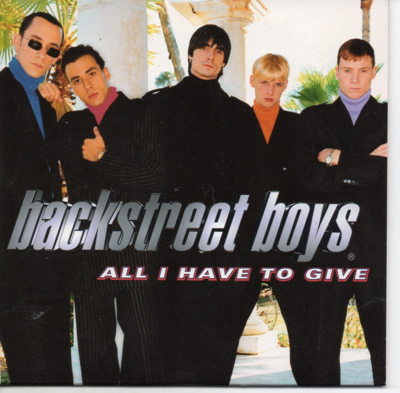 BACKSTREET BOYS - All I have to give Promo 1-track CARD SLEEVE - CD single