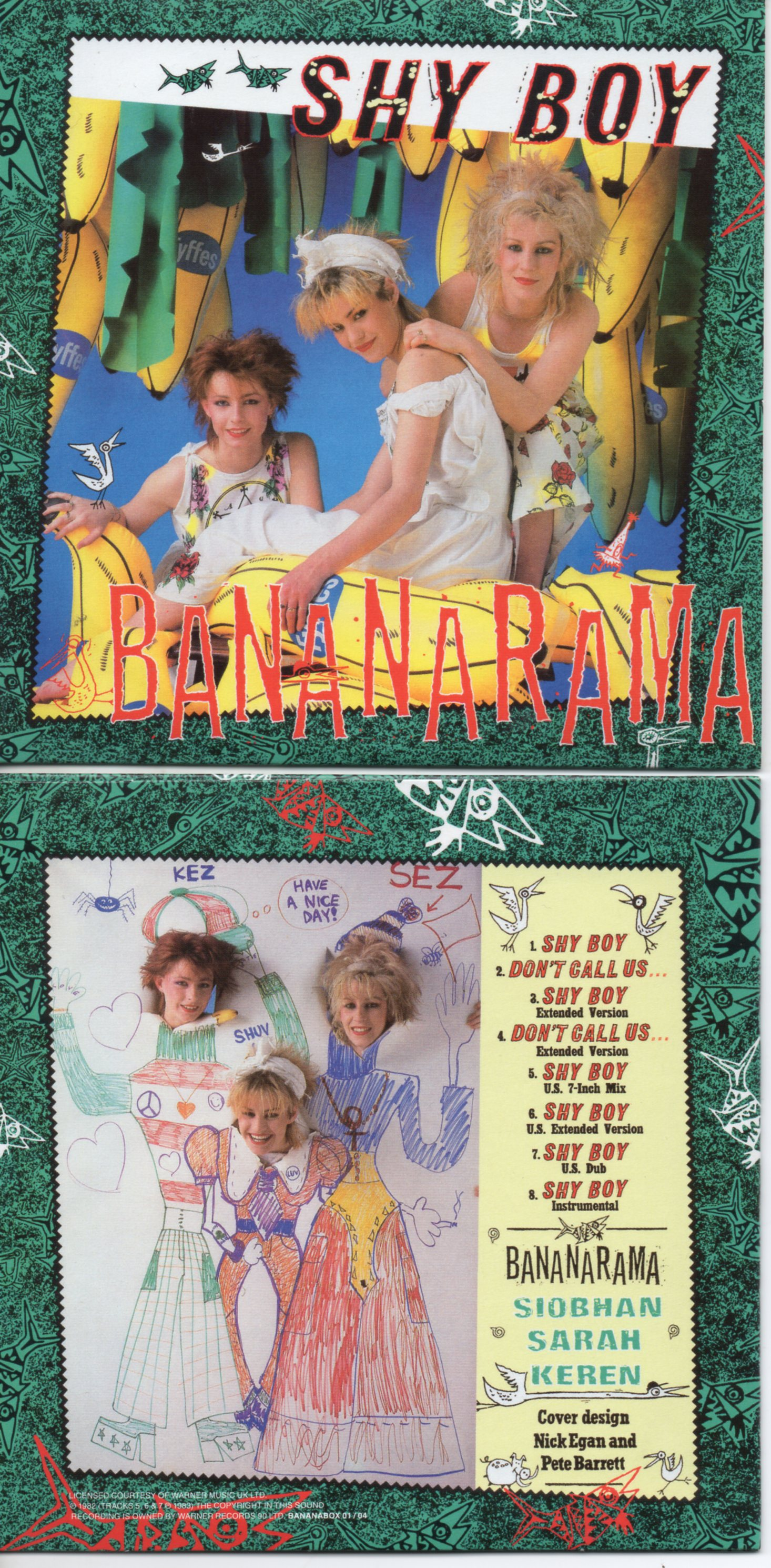 BANANARAMA - Every Shade Of Blue 4 Remixes Jewel Case