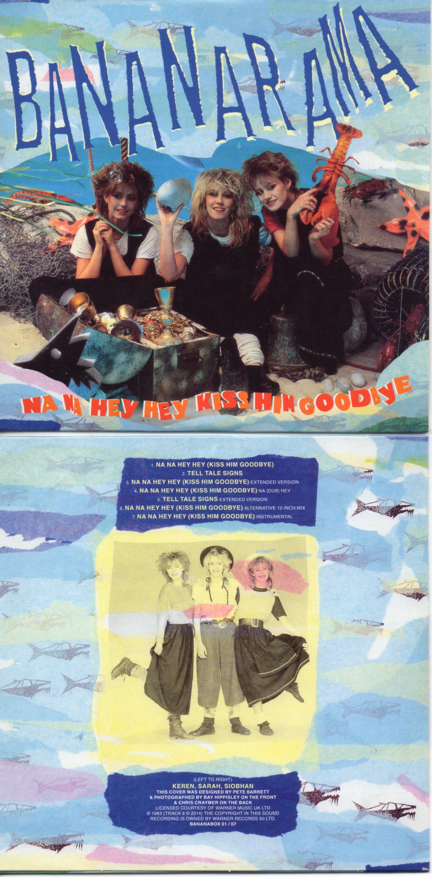 BANANARAMA - NA NA HEY HEY HEY (KISS HIM GOODBYE) (1983) 7-TRACK CARD SLEEVE - CD single