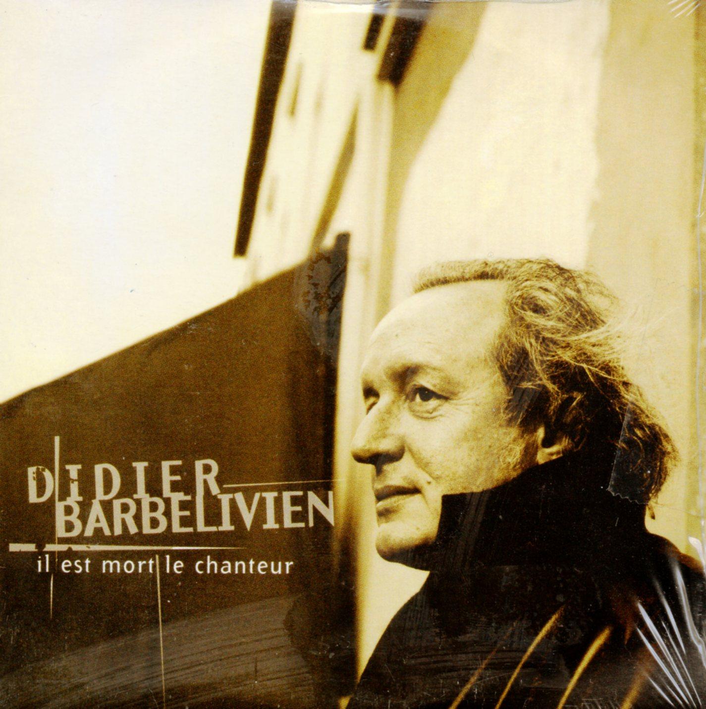 DIDIER BARBELIVIEN - Il est mort le chanteur 2-track CARD SLEEVE - CD single