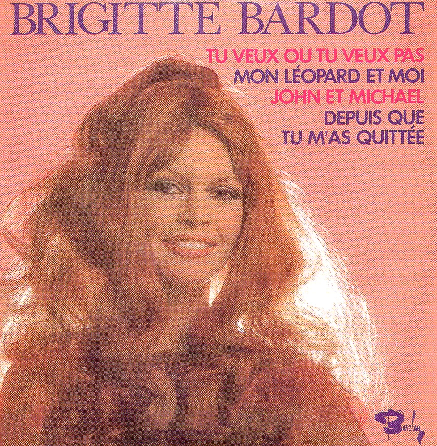 BRIGITTE BARDOT - Tu veux ou tu veux pas - EP REPLICA - 4-TRACK CARD SLEEVE - CD single